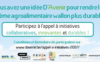 D'Avenir lance son second appel à initiatives !