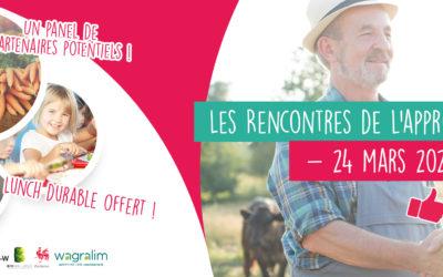 Rencontres Approvisionnement à Mons, 24 mars