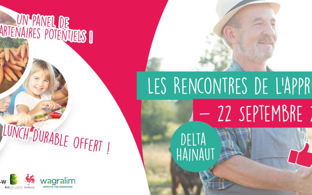 Le retour des Rencontres de l'approvisionnement. Première édition à Mons, 22 septembre